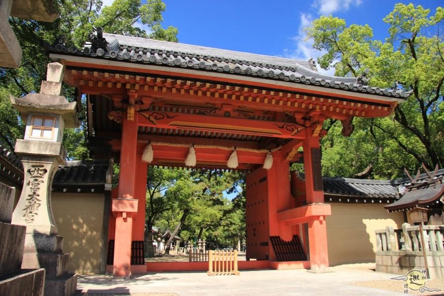 西宮神社 表大門(赤門)