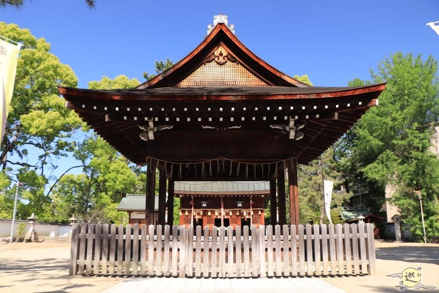 与杼神社拝殿
