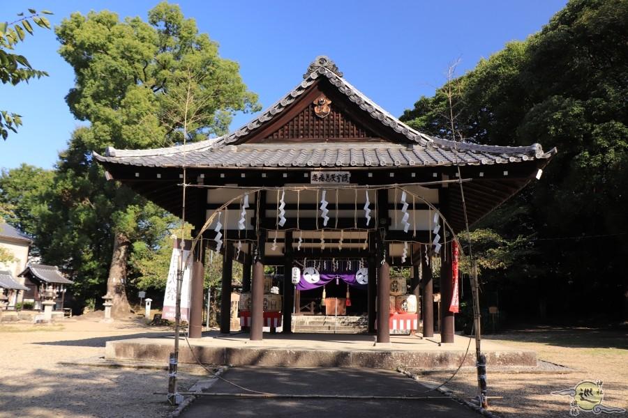 許波多神社 木幡