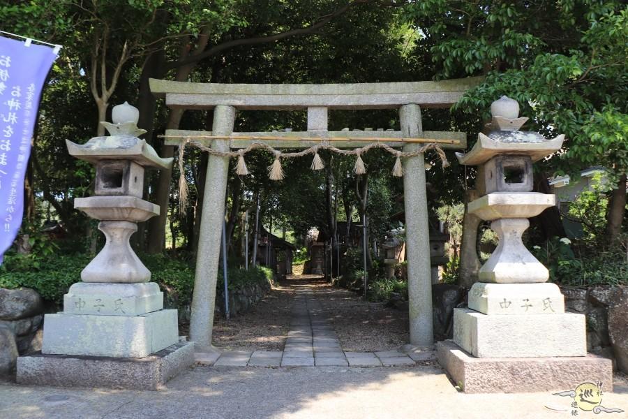 平群坐紀氏神社