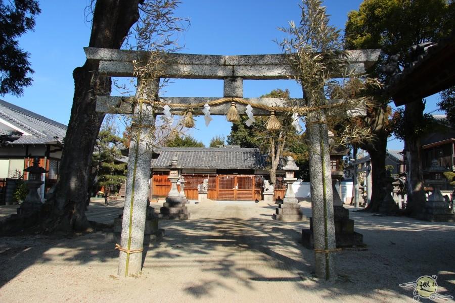調田坐一事尼古神社