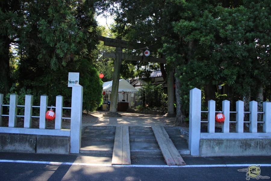 鏡作伊多神社