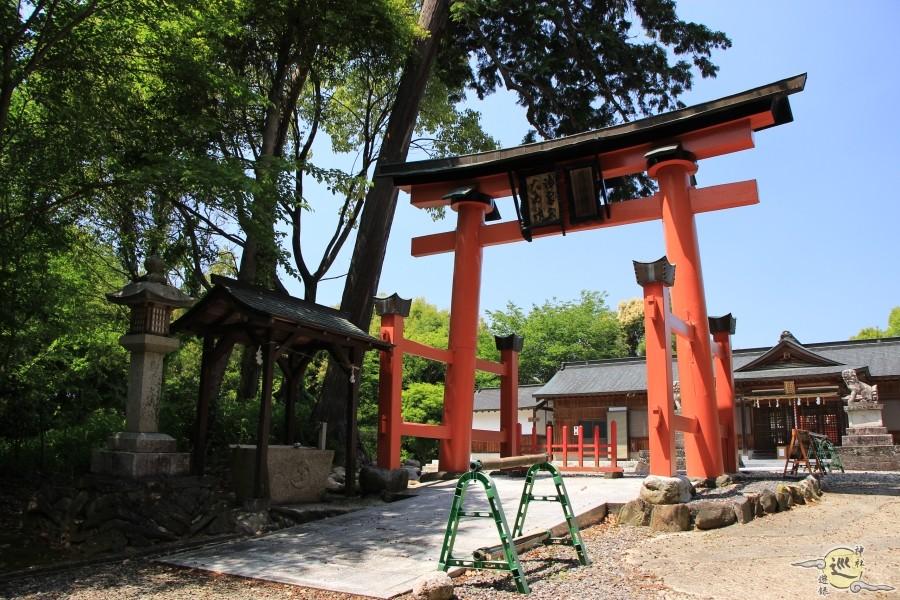 黒駒 御霊神社 落杣神社